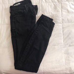 Gap black skinny jeans